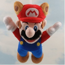 Flying Raccoon Mario